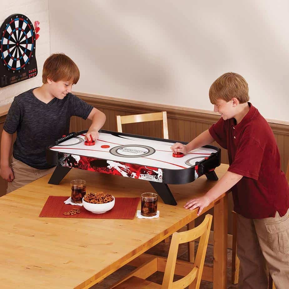 perfecting your table top air hockey tricks