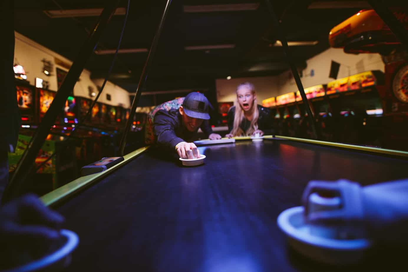 The Best Air Hockey Tricks to Impress Your Friends With