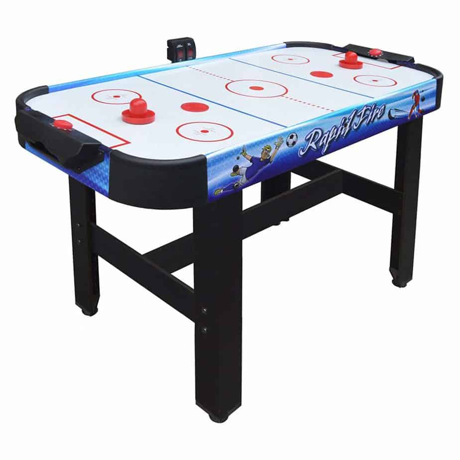 Hathaway Rapid Fire 42-in 3-in-1 Air Hockey for kids