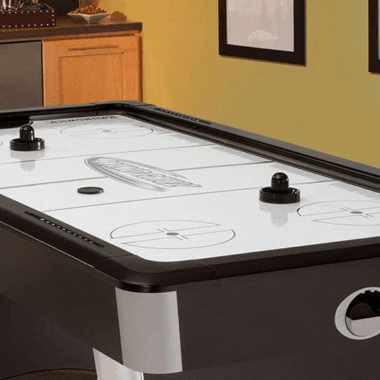 4 Players Round Air Hockey Tables More Fun For The Family