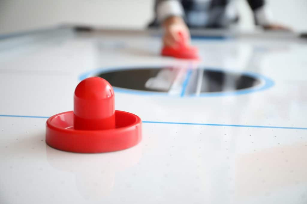 Modern air hockey