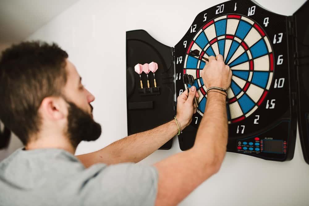 Man playing