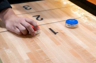 Vintage shuffle board