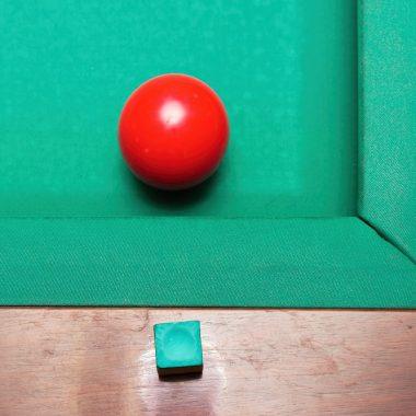 Red Billiard Ball