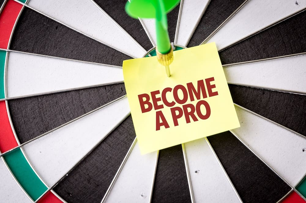 Become a Pro darts player