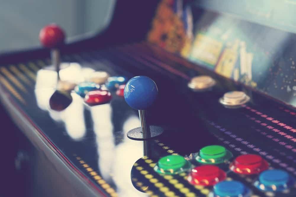 Arcade machine pac-man
