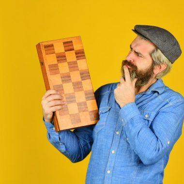 Grandmaster experienced chess player