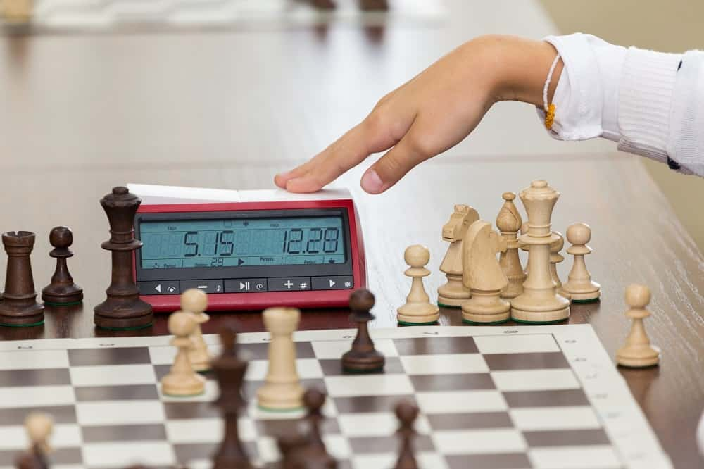 Chess tournament with a chess clock